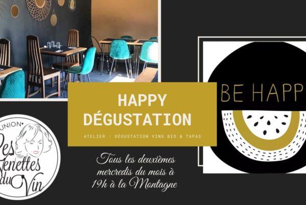 Be Happy DégustationLa Montagne by les Nenettes du vin