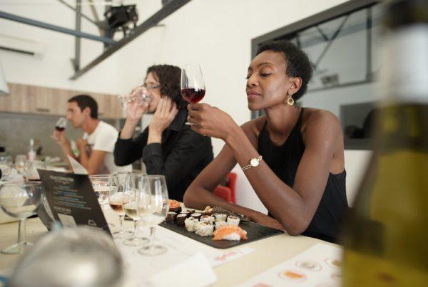 atelier vins sushis les nenettes du vin le pecheur creole